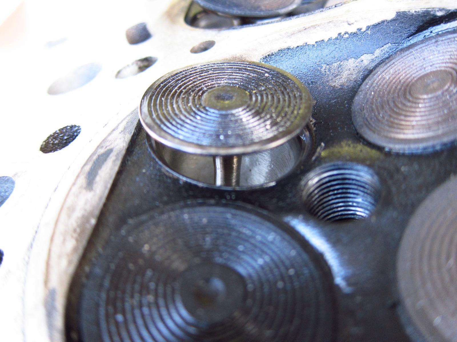 Pinched Piston Ring Damage